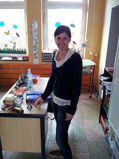 Frau Giesendorf, Abwesenheitsvertreterin