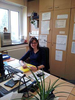Frau Müller,  Konrektorin